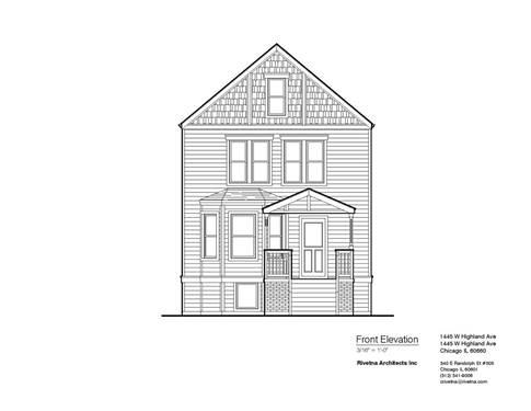 1445 W Highland, Chicago, IL 60660 Edgewater