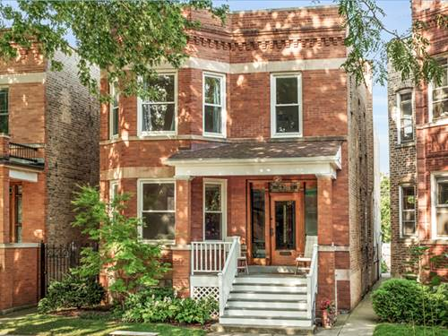 3706 N Bell, Chicago, IL 60618 North Center