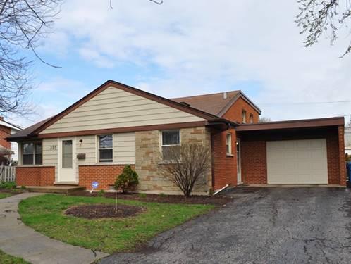 395 E Park, Elmhurst, IL 60126