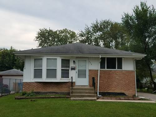 556 W 16th, Chicago Heights, IL 60411