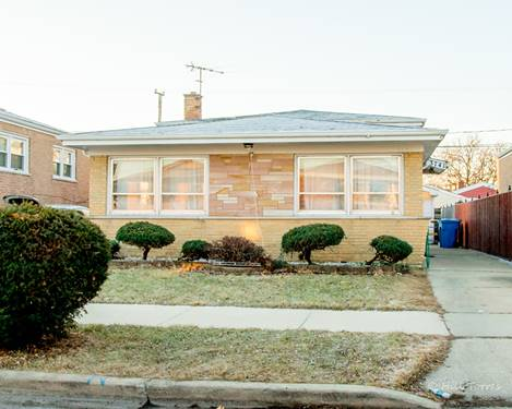 3741 W Pippin, Chicago, IL 60652