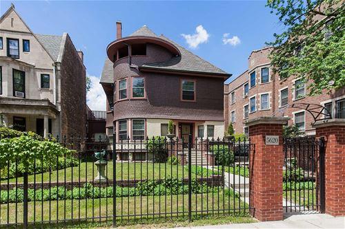 5620 S Blackstone, Chicago, IL 60637