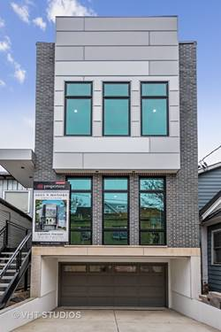 3055 N Honore, Chicago, IL 60657 West Lakeview