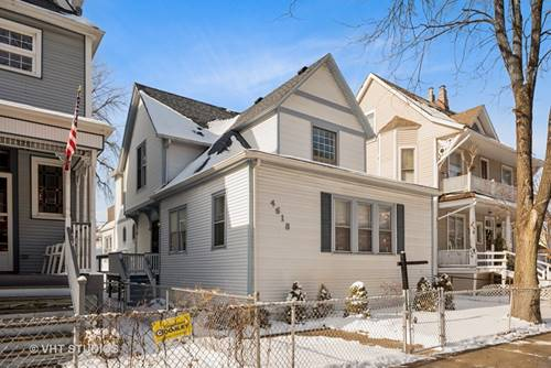 4618 N Damen, Chicago, IL 60625 Lincoln Square