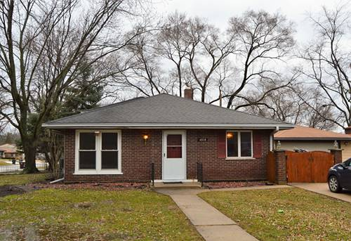 4828 153rd, Oak Forest, IL 60452