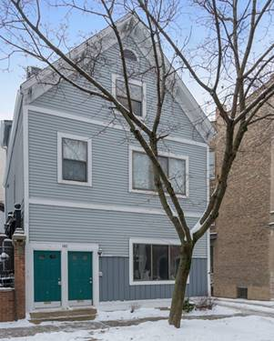 1411 W George Unit 2, Chicago, IL 60657 Lakeview