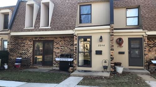2244 Country Club Unit 36-2E, Woodridge, IL 60517