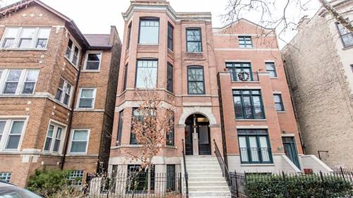 3530 N Reta Unit 3F, Chicago, IL 60657 Lakeview