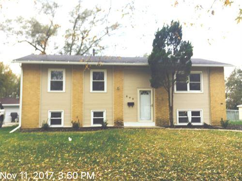 848 Princeton, Matteson, IL 60443