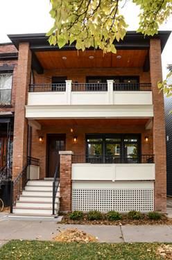 1831 W Cuyler, Chicago, IL 60613