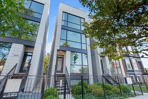 2532 N Linden Unit 3, Chicago, IL 60647 Logan Square