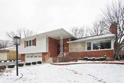 840 N Merrill, Park Ridge, IL 60068