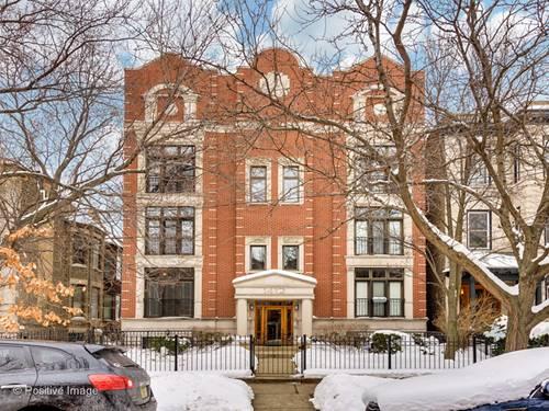 1412 W Cuyler Unit 1W, Chicago, IL 60613 Uptown