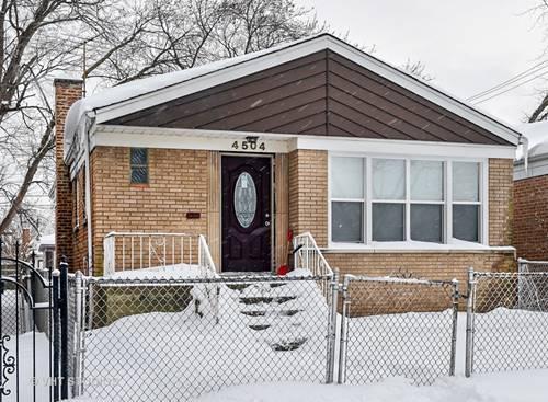 4504 S Laporte, Chicago, IL 60638
