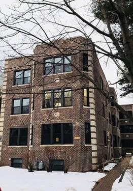 718 Reba Unit 1S, Evanston, IL 60202