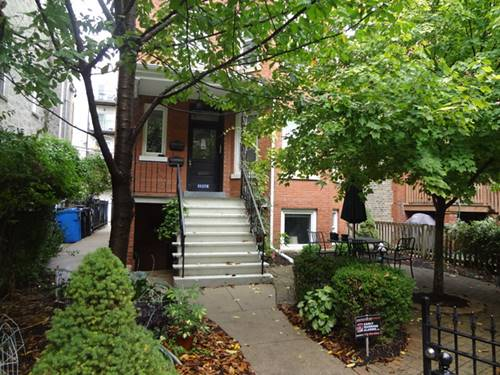 3117 N Orchard Unit GDN, Chicago, IL 60657 Lakeview