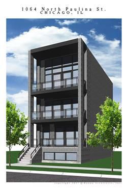 1064 N Paulina Unit 2, Chicago, IL 60622 Noble Square