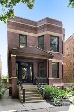 3833 N Claremont, Chicago, IL 60618 North Center