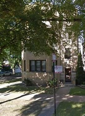 1542 W Waveland Unit 1, Chicago, IL 60613 Lakeview