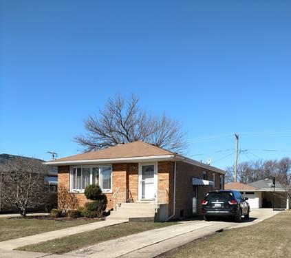 4720 W 99th, Oak Lawn, IL 60453