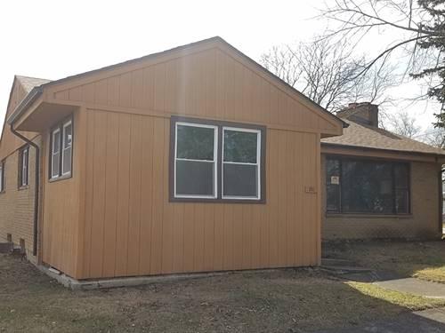 301 E Harriet, Thornton, IL 60476