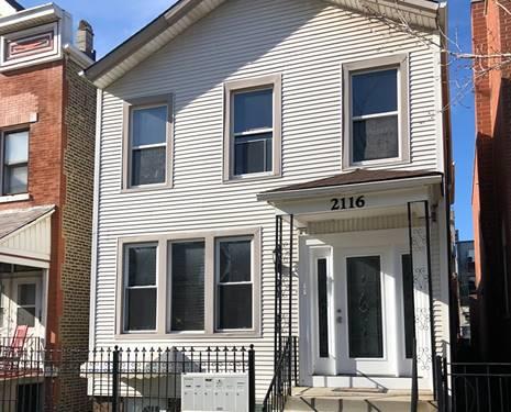 2116 N Winchester, Chicago, IL 60614 Bucktown