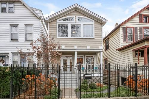 3036 N Hamilton, Chicago, IL 60618 West Lakeview
