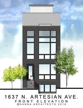 1637 N Artesian Unit 1, Chicago, IL 60647