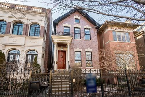 2736 N Paulina, Chicago, IL 60614 West Lincoln Park
