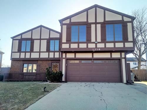 1218 Pinetree, Bartlett, IL 60103