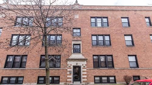 1523 W Cullom Unit 3, Chicago, IL 60613 Uptown