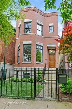 2730 N Paulina, Chicago, IL 60614 West Lincoln Park