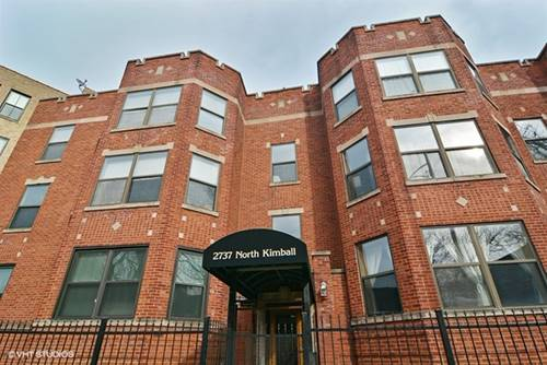 2737 N Kimball Unit 2, Chicago, IL 60647 Logan Square