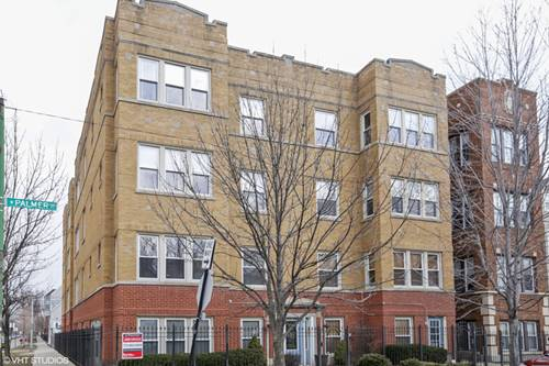 3534 W Palmer Unit 3, Chicago, IL 60647 Logan Square