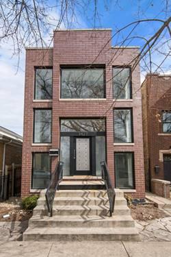 3427 N Claremont, Chicago, IL 60618 Roscoe Village