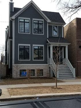 3932 N Oakley, Chicago, IL 60618 North Center