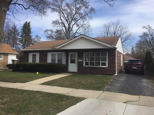 4439 Center, Lyons, IL 60534