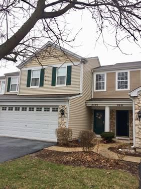 2439 Oak Tree Unit 2439, Plainfield, IL 60586