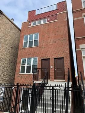 1309 N Bosworth, Chicago, IL 60623 Wicker Park