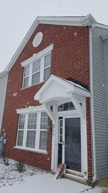 211 Springbrook, Oswego, IL 60543