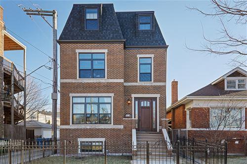 2215 W Winona, Chicago, IL 60618 Ravenswood