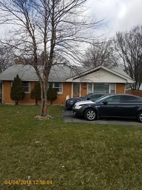3046 183rd, Homewood, IL 60430