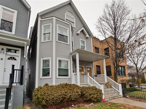 2956 N Talman, Chicago, IL 60618 West Lakeview