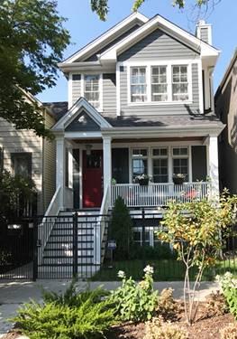 1454 W Wellington, Chicago, IL 60657 Lakeview