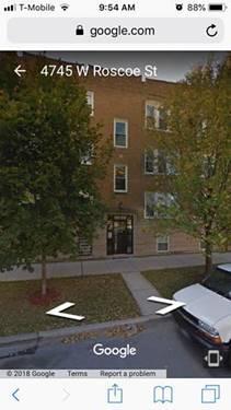 4745 W Roscoe Unit 1, Chicago, IL 60641