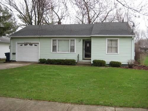 110 S Jackson, Gardner, IL 60424