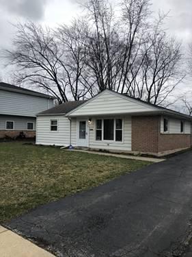 325 S Blackhawk, Park Forest, IL 60466