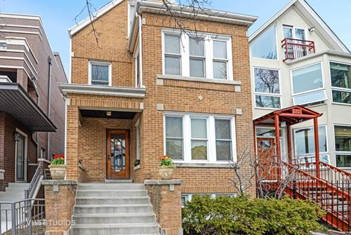 1538 W Wolfram, Chicago, IL 60657 Lakeview