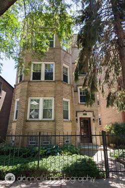 2141 W Arthur Unit 1, Chicago, IL 60645