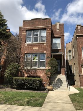 2618 W Argyle Unit 1, Chicago, IL 60625 Ravenswood